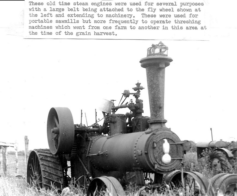 Farm Steam Engine
