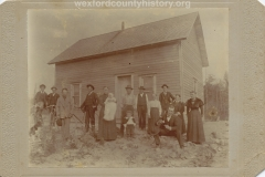 Johnson Family On Their Farm