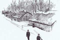 F. Lamb Coll. Lumber Camp