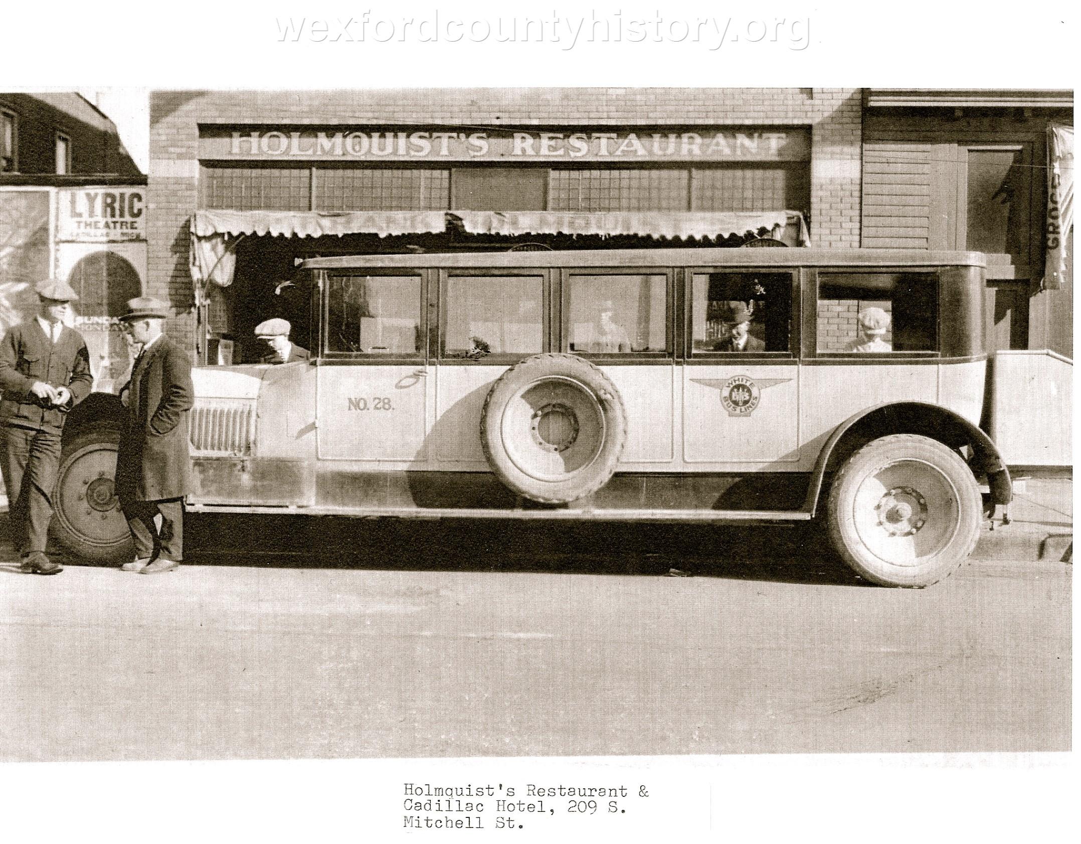 Cadillac Hotel Bus Stop