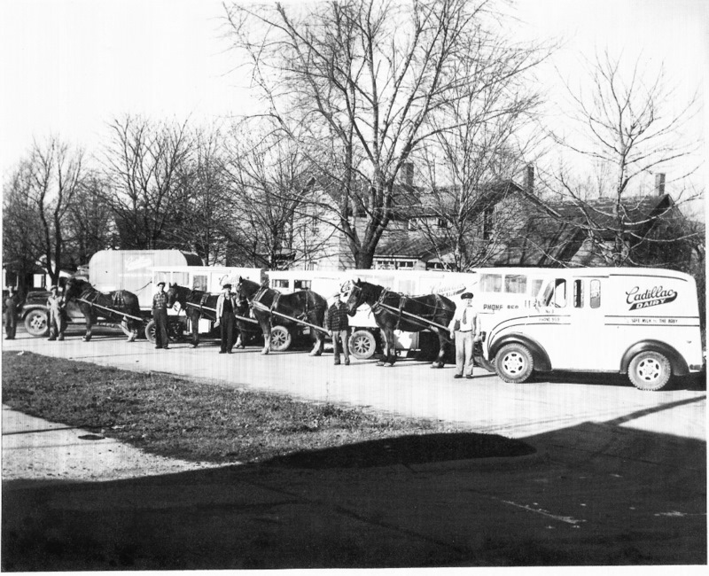 Cadillac Dairy Delivery Vehicles