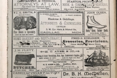 1908 Atlas Advertisements