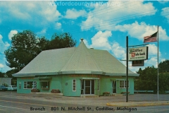 Cadillac State Bank Drive In Branch