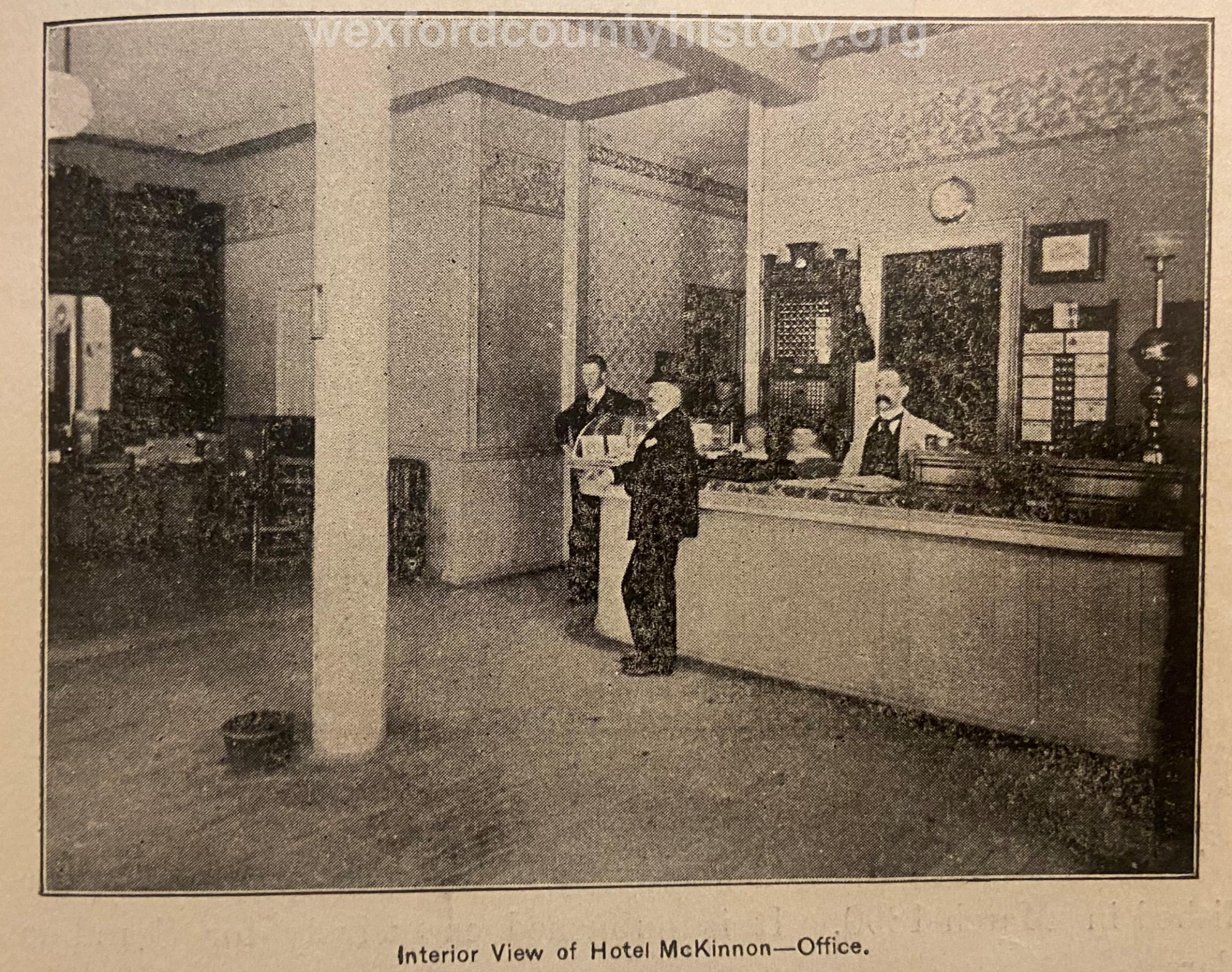 McKinnon Hotel Office