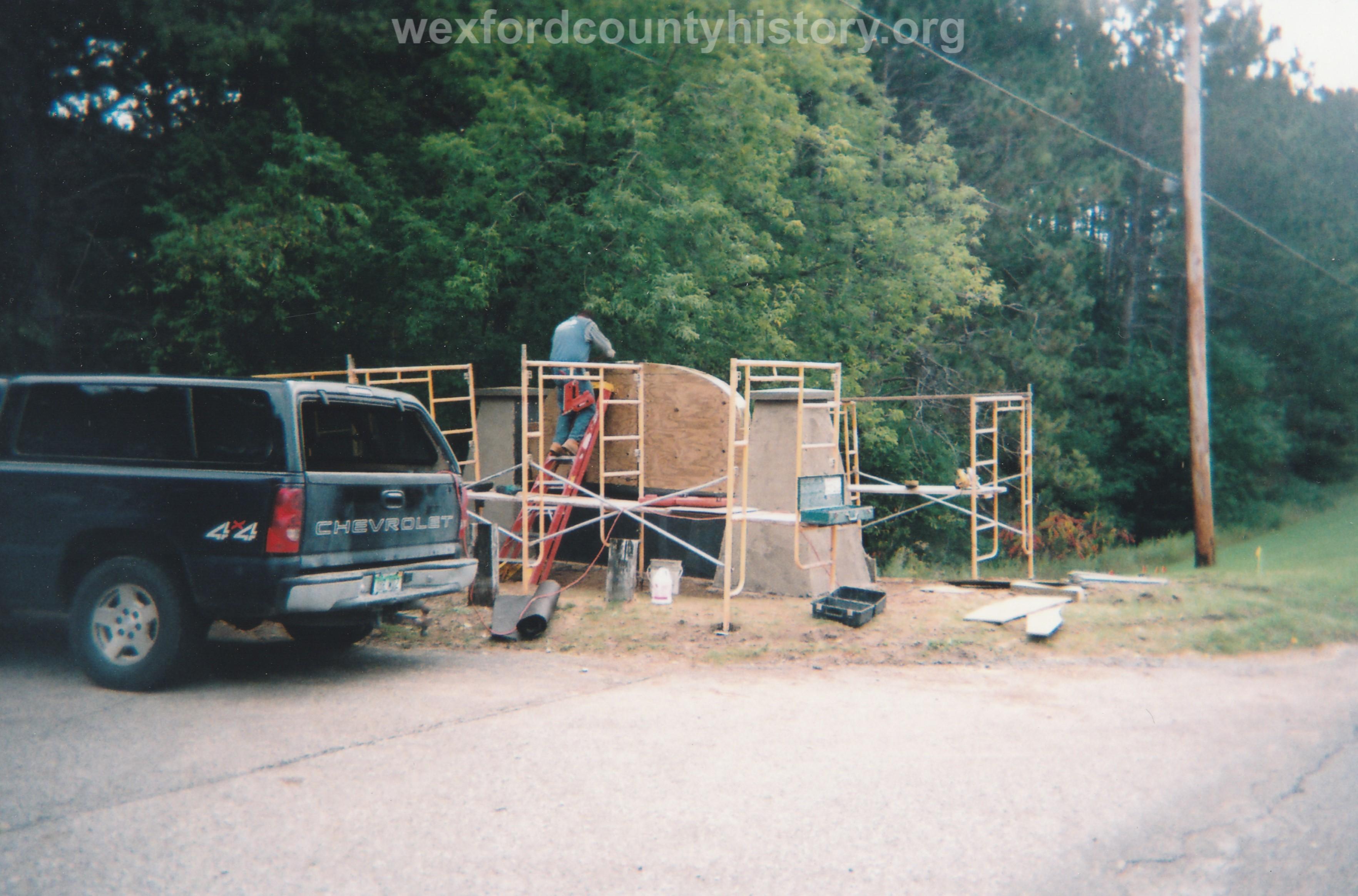 Pine Grove Sign Installation