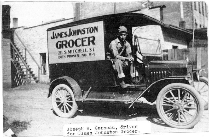 James Johnston Grocery Store Truck