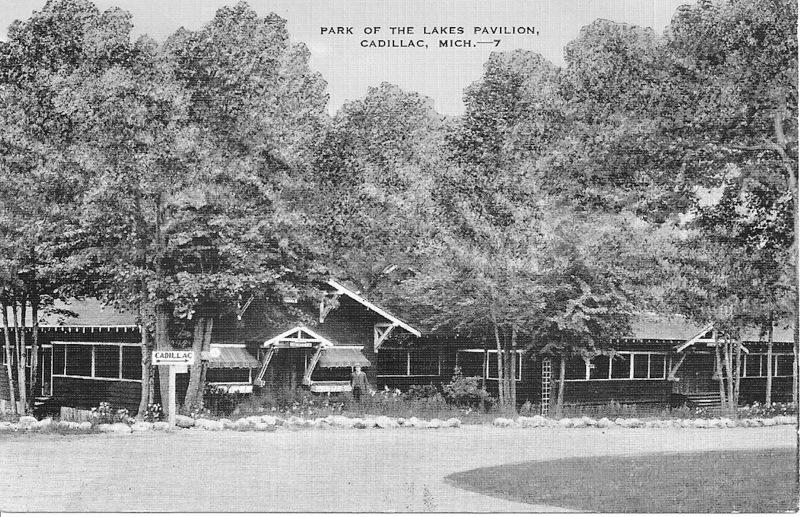 Park of the Lakes Pavilion