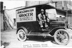 James Johnston Grocery Store Truck