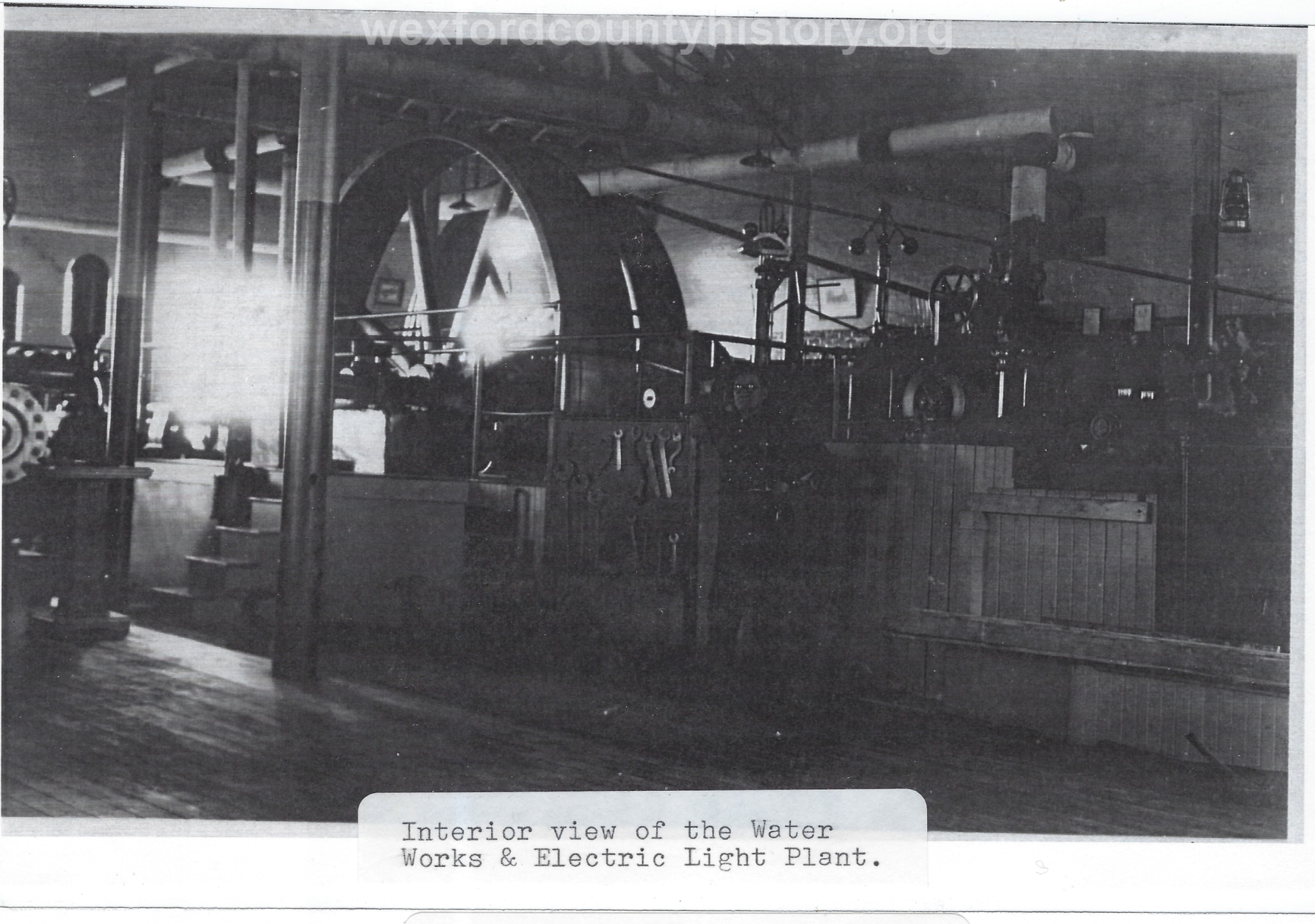 Water Works And Electric Plant
