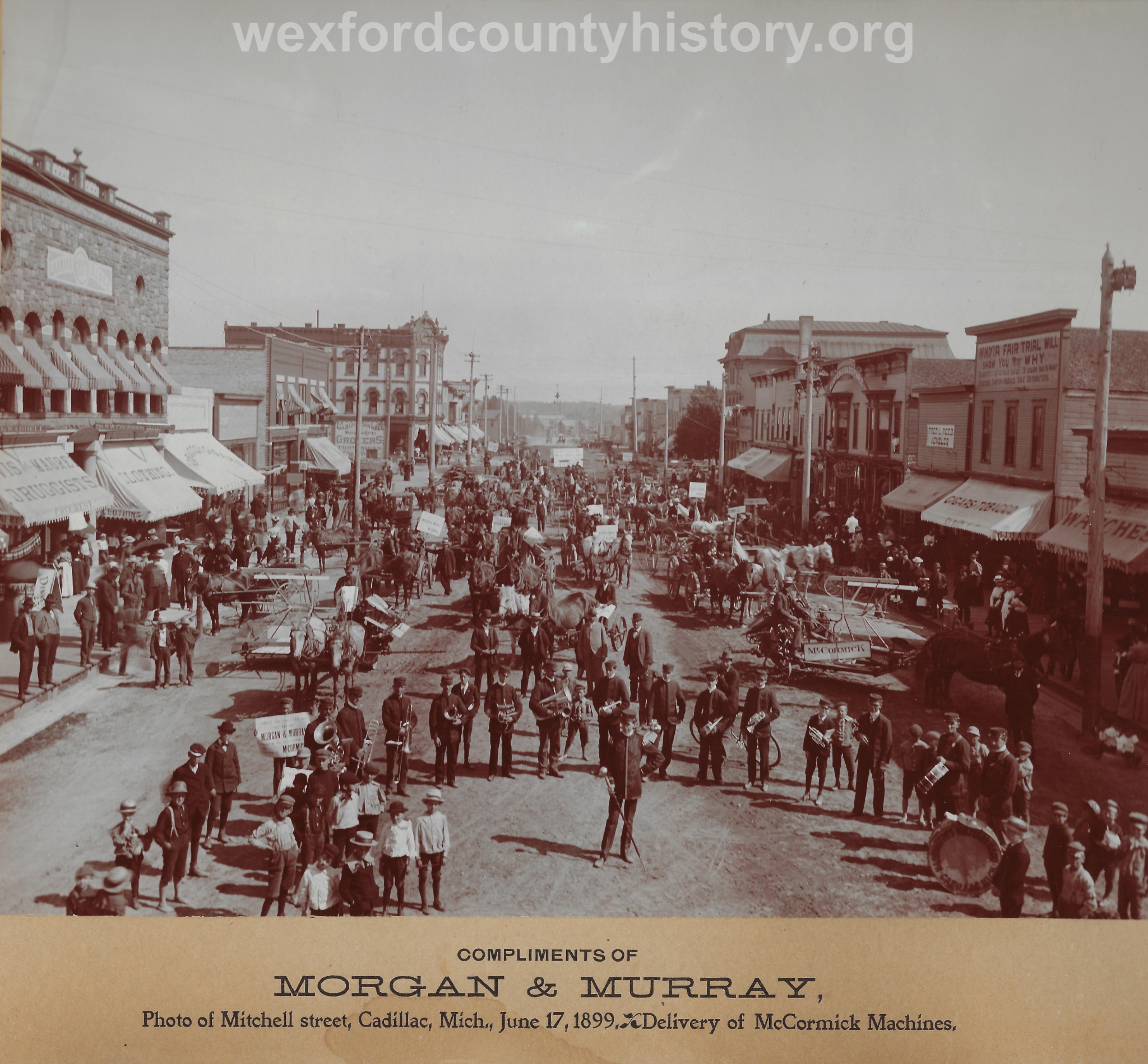 Cadillac-Parade-1899.06.17-Delivery-Of-McCormick-Machines-Copy