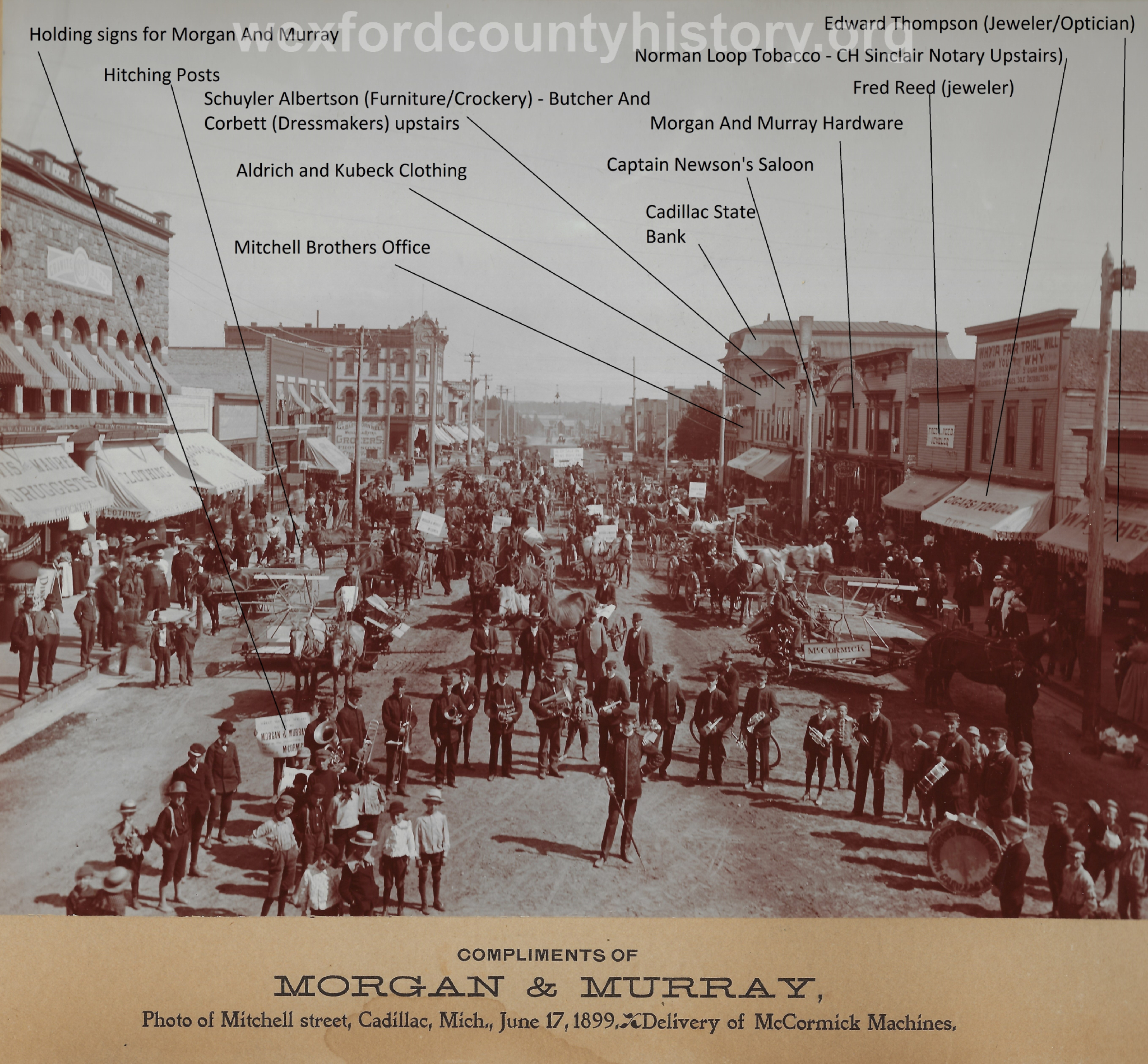 Cadillac-Parade-1899.06.17-Delivery-Of-McCormick-Machines-Right-Side
