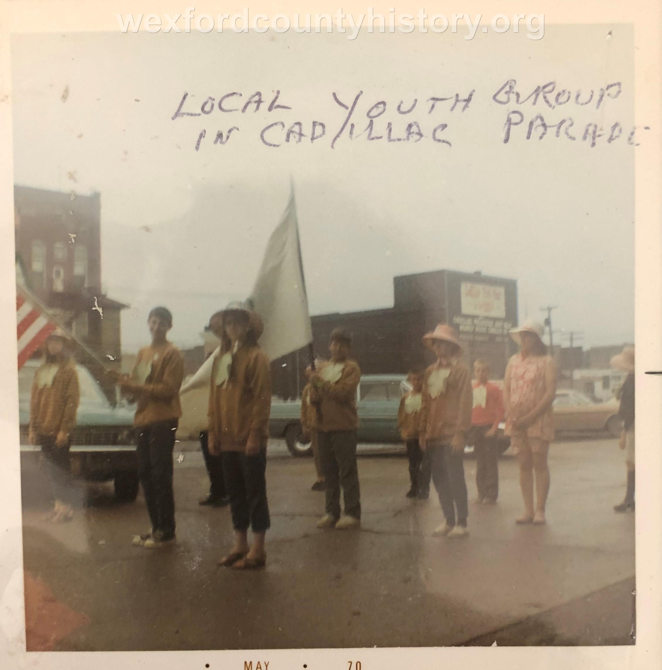Cadillac-Parade-Local-Youth-Group-In-Parade-1