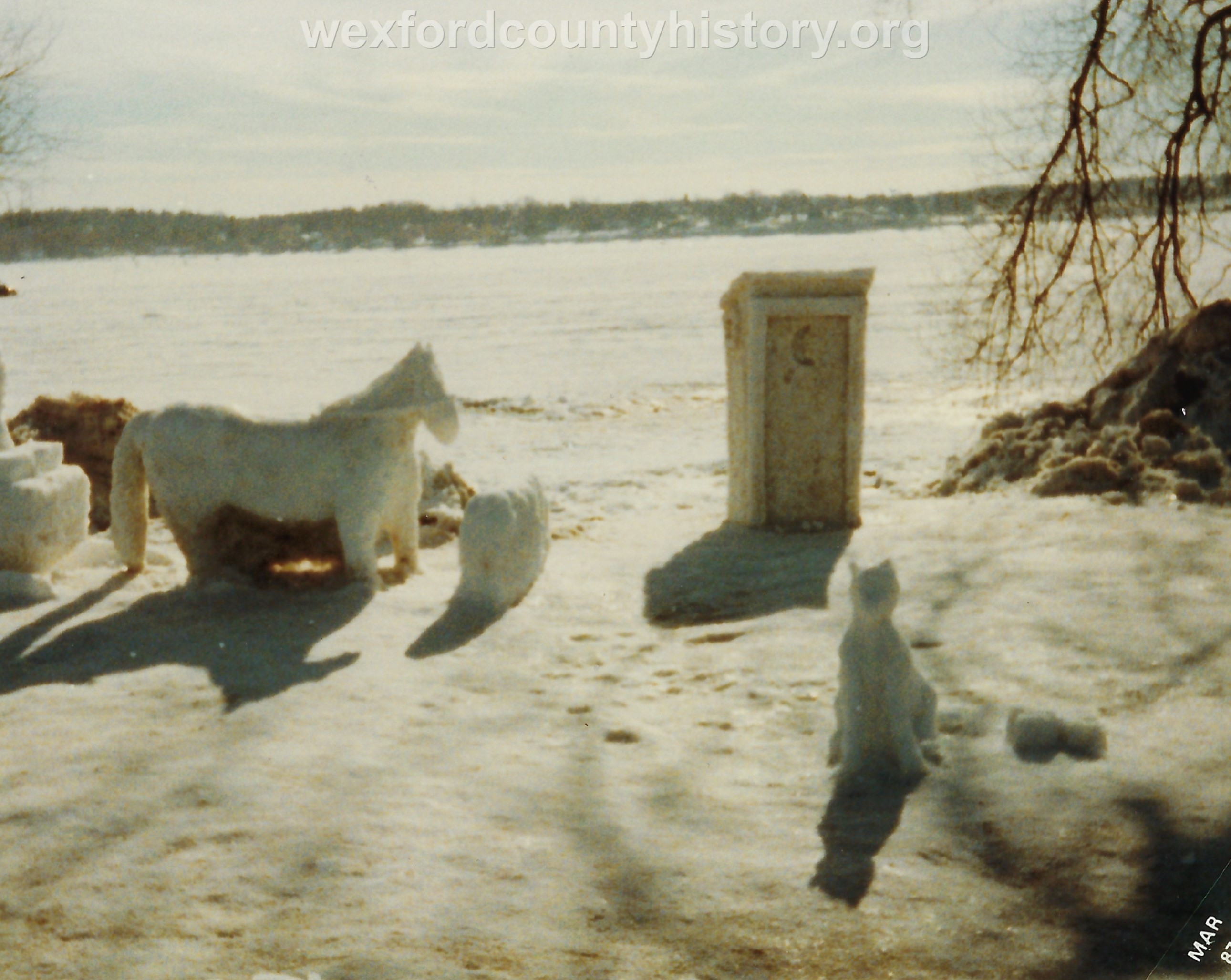 Cadillac-Recreation-Ice-Sculptures-On-Lake-Cadillac-For-Snowmobile-Festival-2