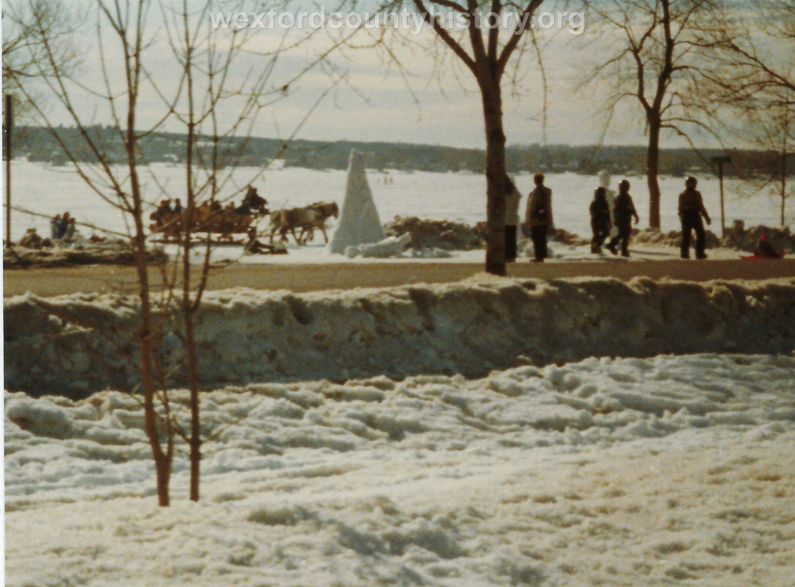 Cadillac-Recreation-Ice-Sculptures-On-Lake-Cadillac-For-Snowmobile-Festival-5