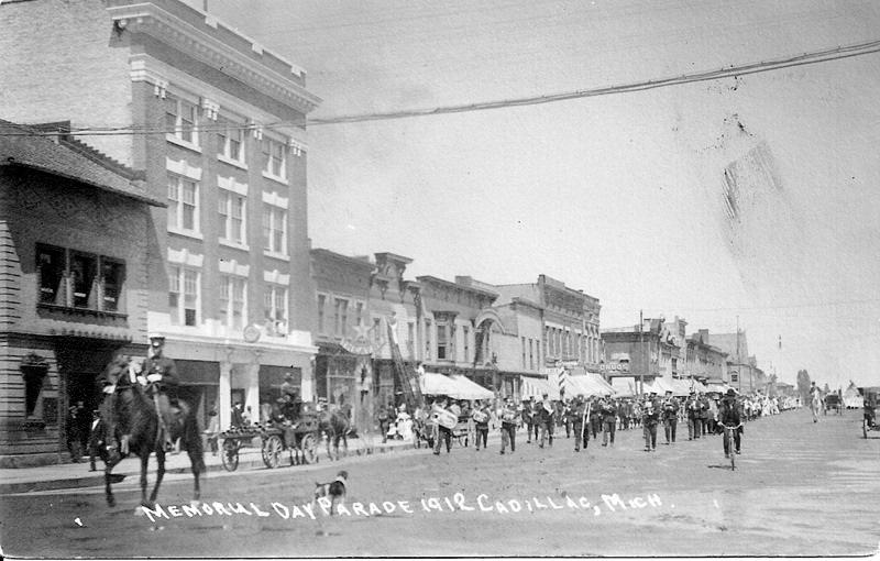 Memorial Day Parade, 1912