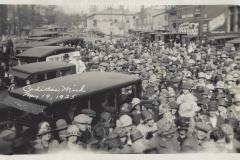 West Harris Street Crowd