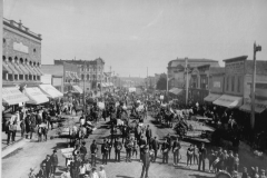 Mitchell Street Celebration in 1899