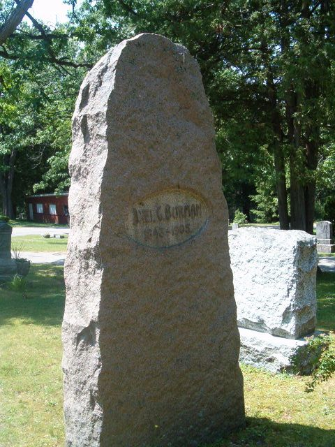 Burman stone