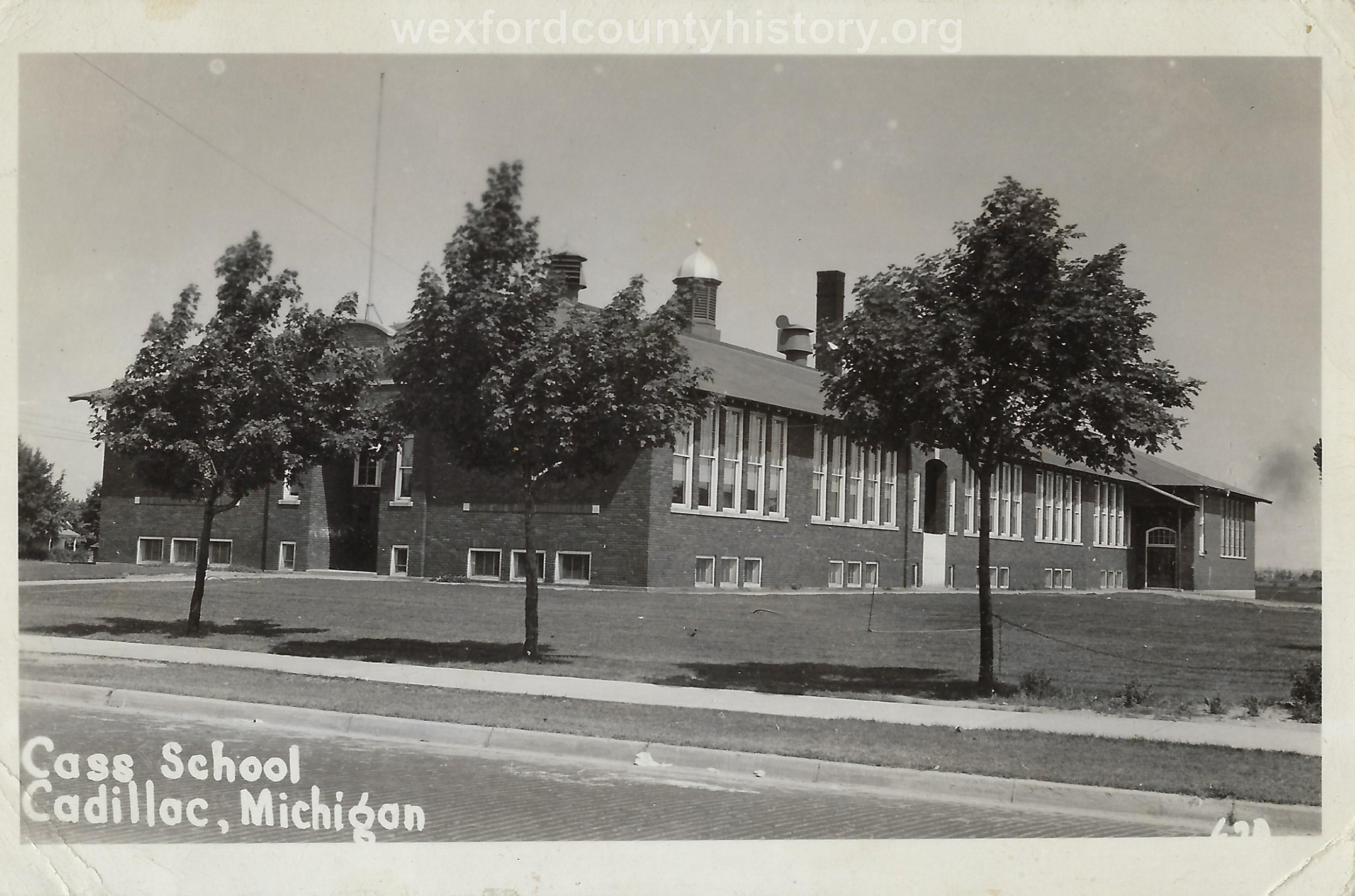 The Second Cass School (First Ward)