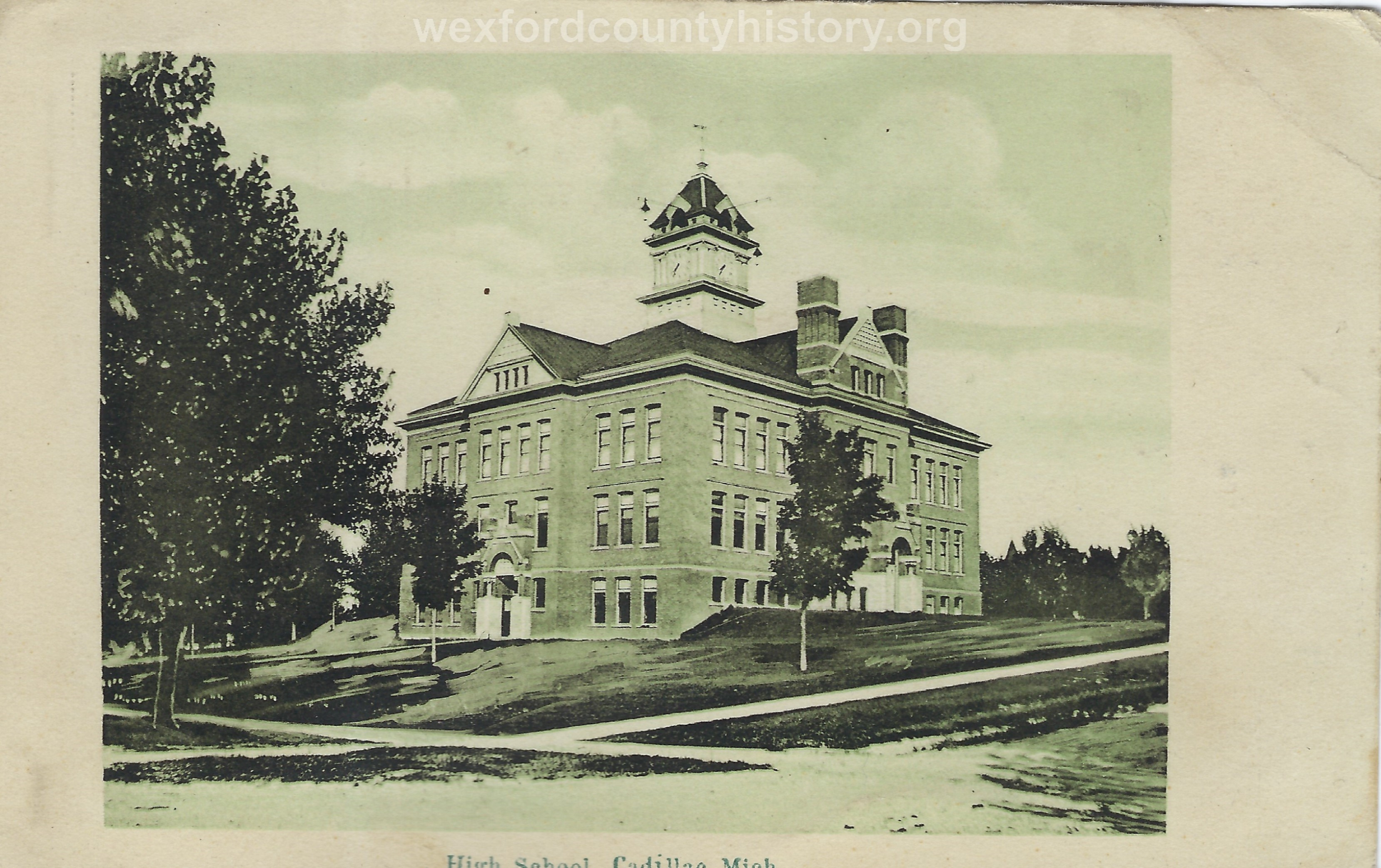The First Brick Central High School (1890 - 1911)