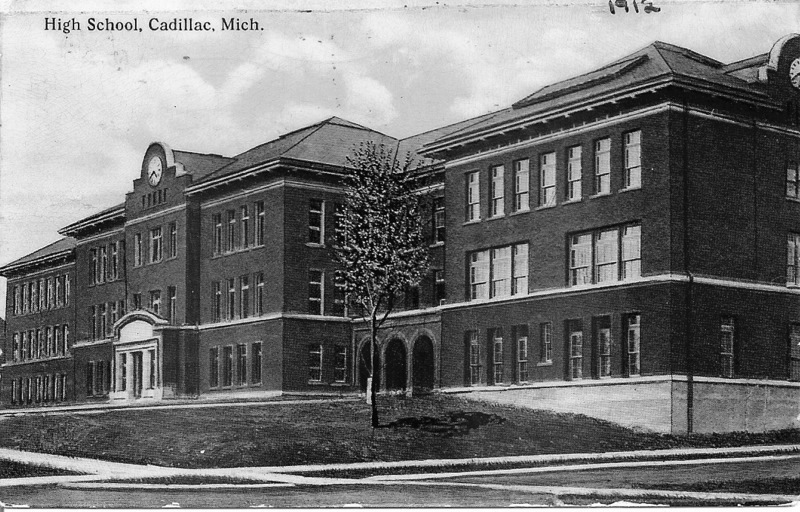 The Enlarged Brick Central High School (1911 - 1960s)