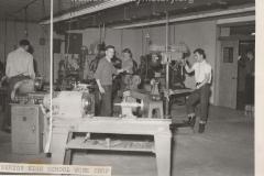 Cadillac High School Machine Shop