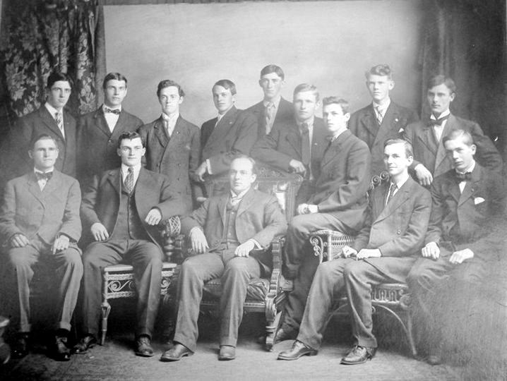 Congregational Sunday School Class of 1909.