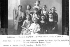 A Swedish Baptist Sunday School Class