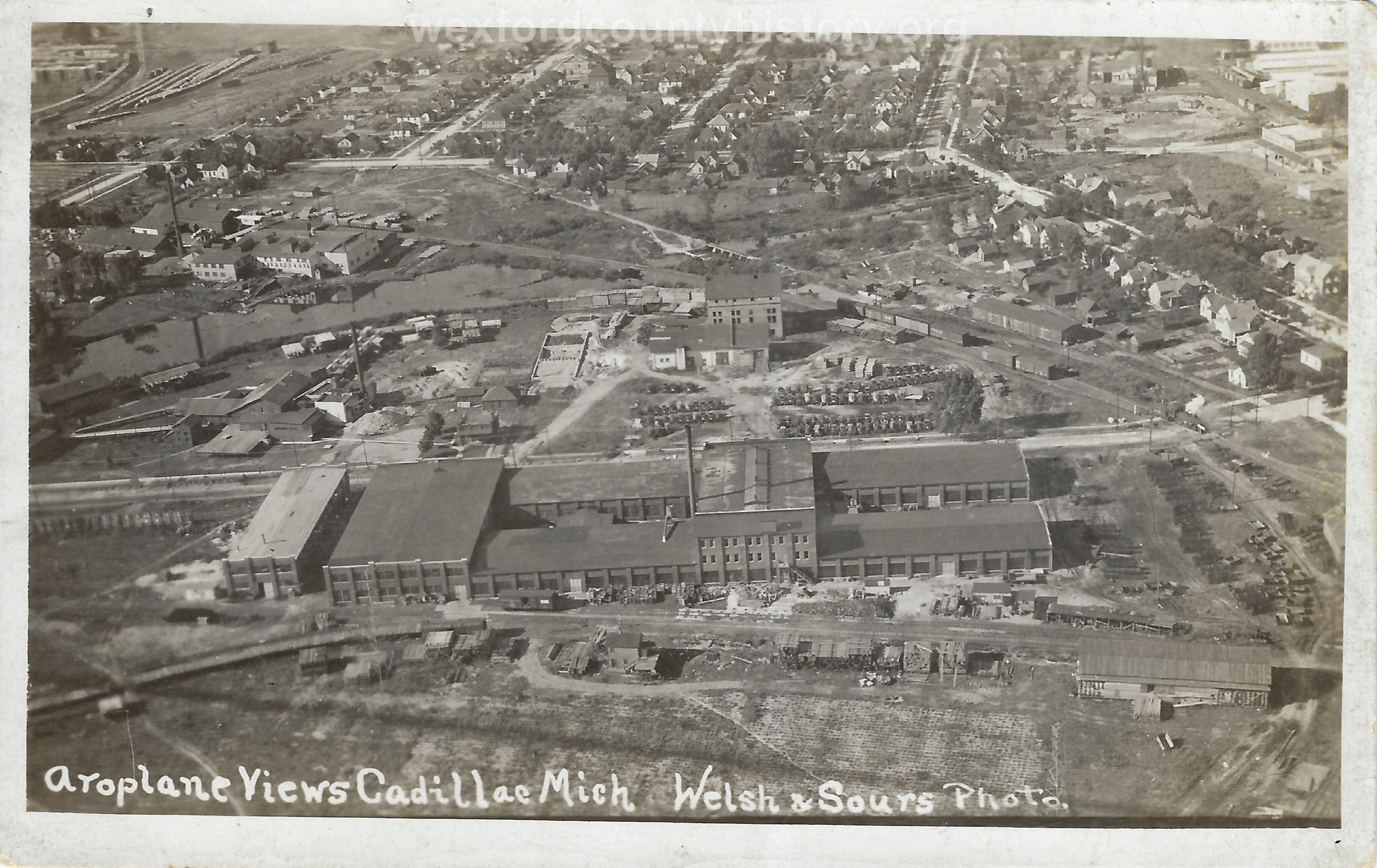 Acme Truck Factory From The Air