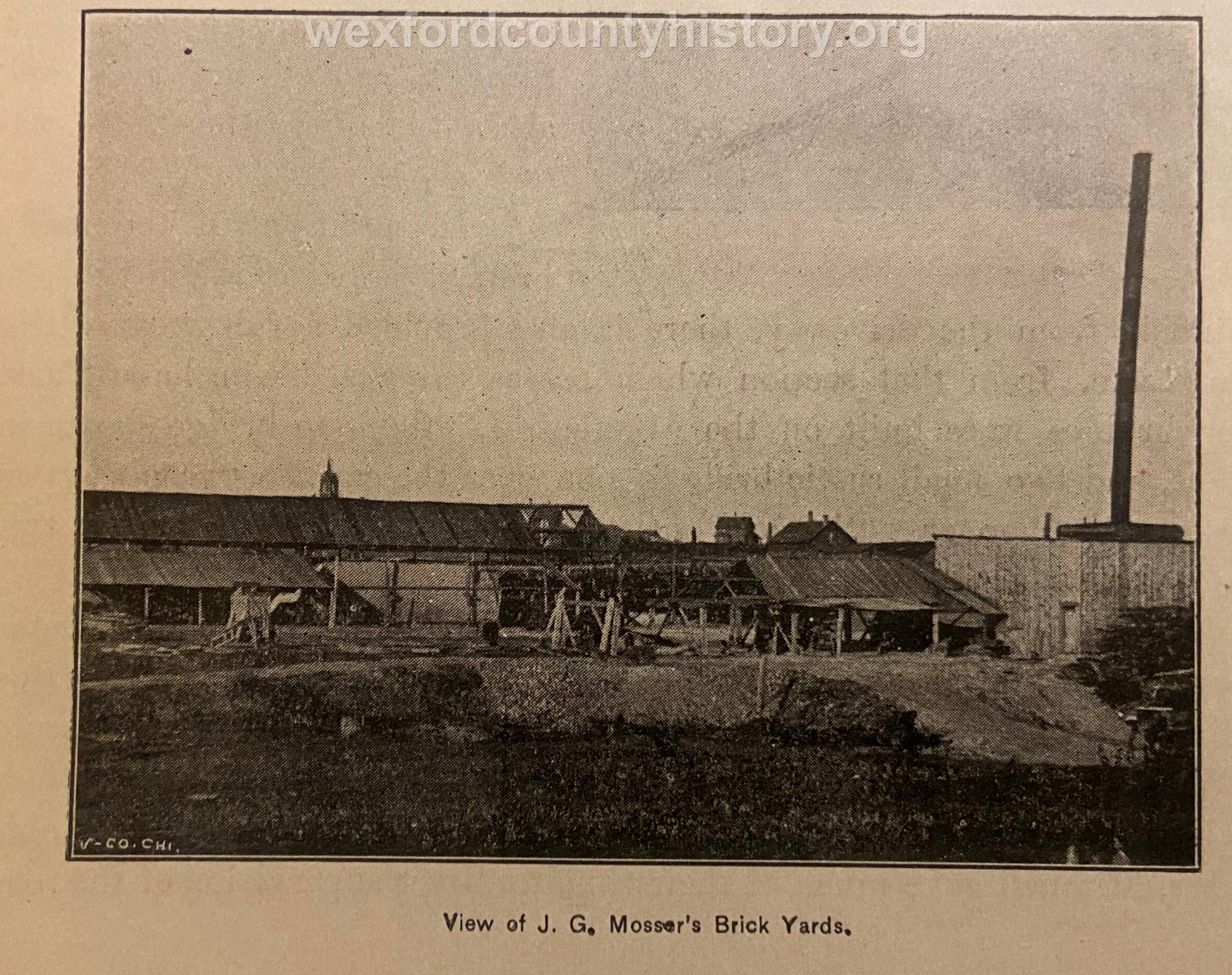 J. G. Mosser's Brick Yard