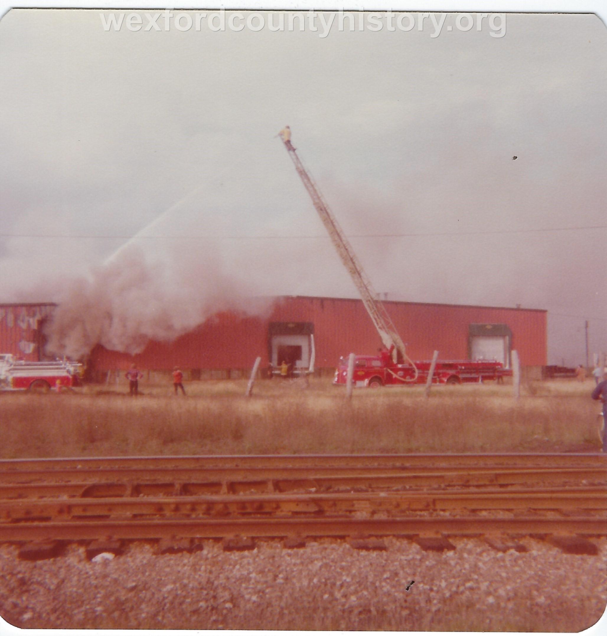 Mitchell - Bentley Building Fire