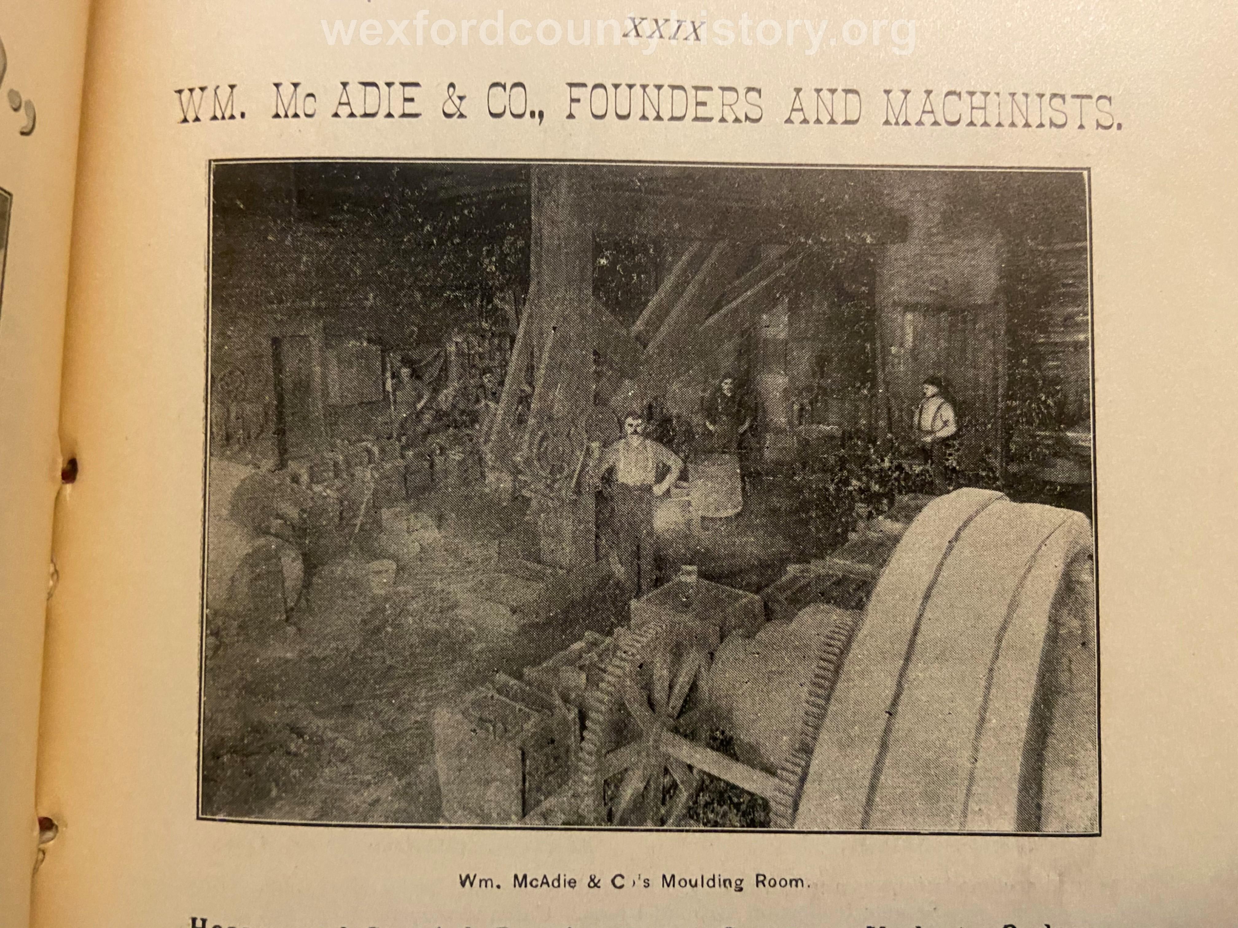 William Mc Adie And Company