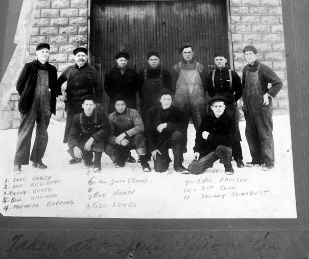 Express Company Workmen