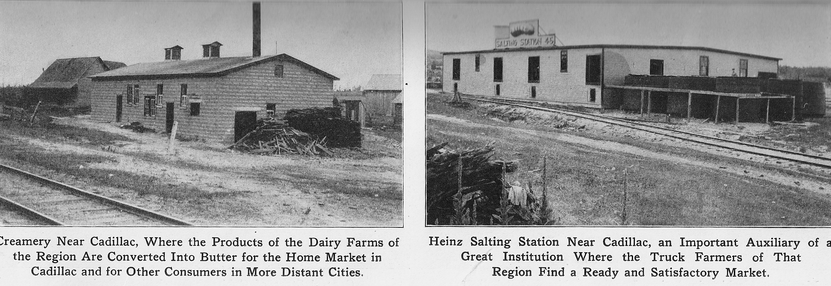 Creamery and a Salting Station