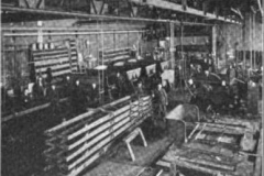 Interior View Of Acme Factory From Brick And Clay Record March 26, 1918