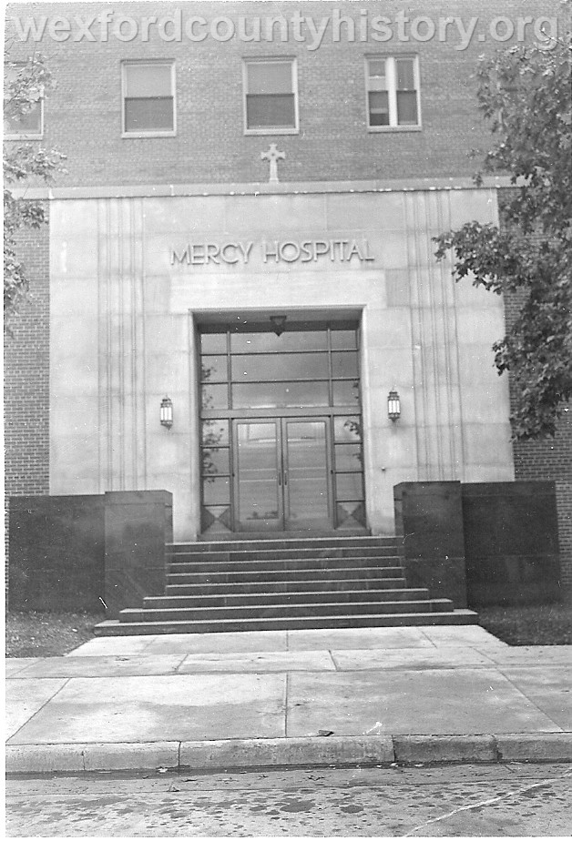 Mercy Hospital Entrance