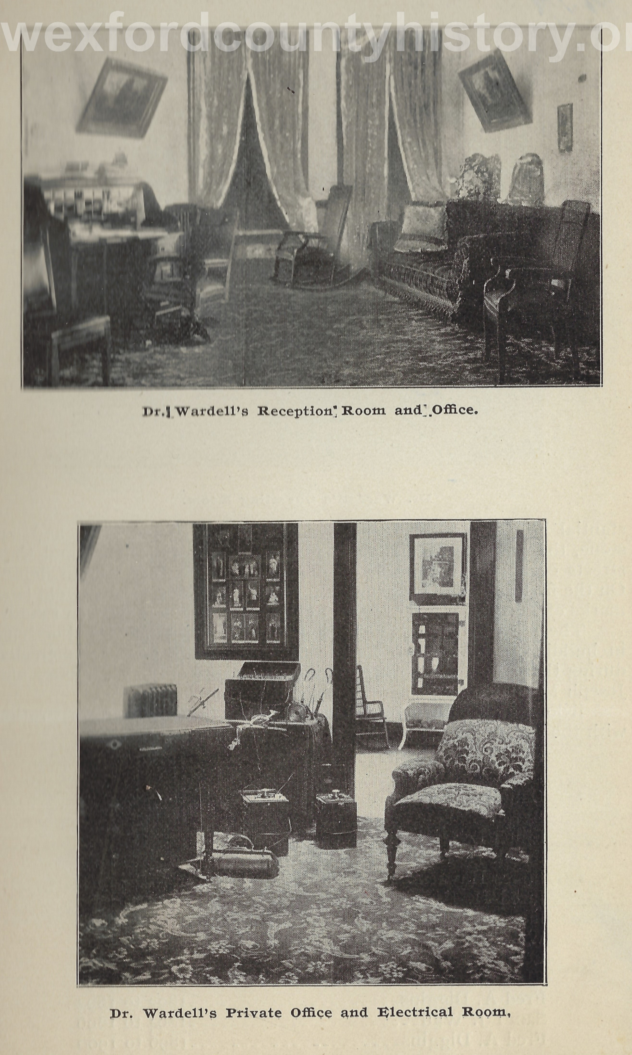Dr. Wardell's Office