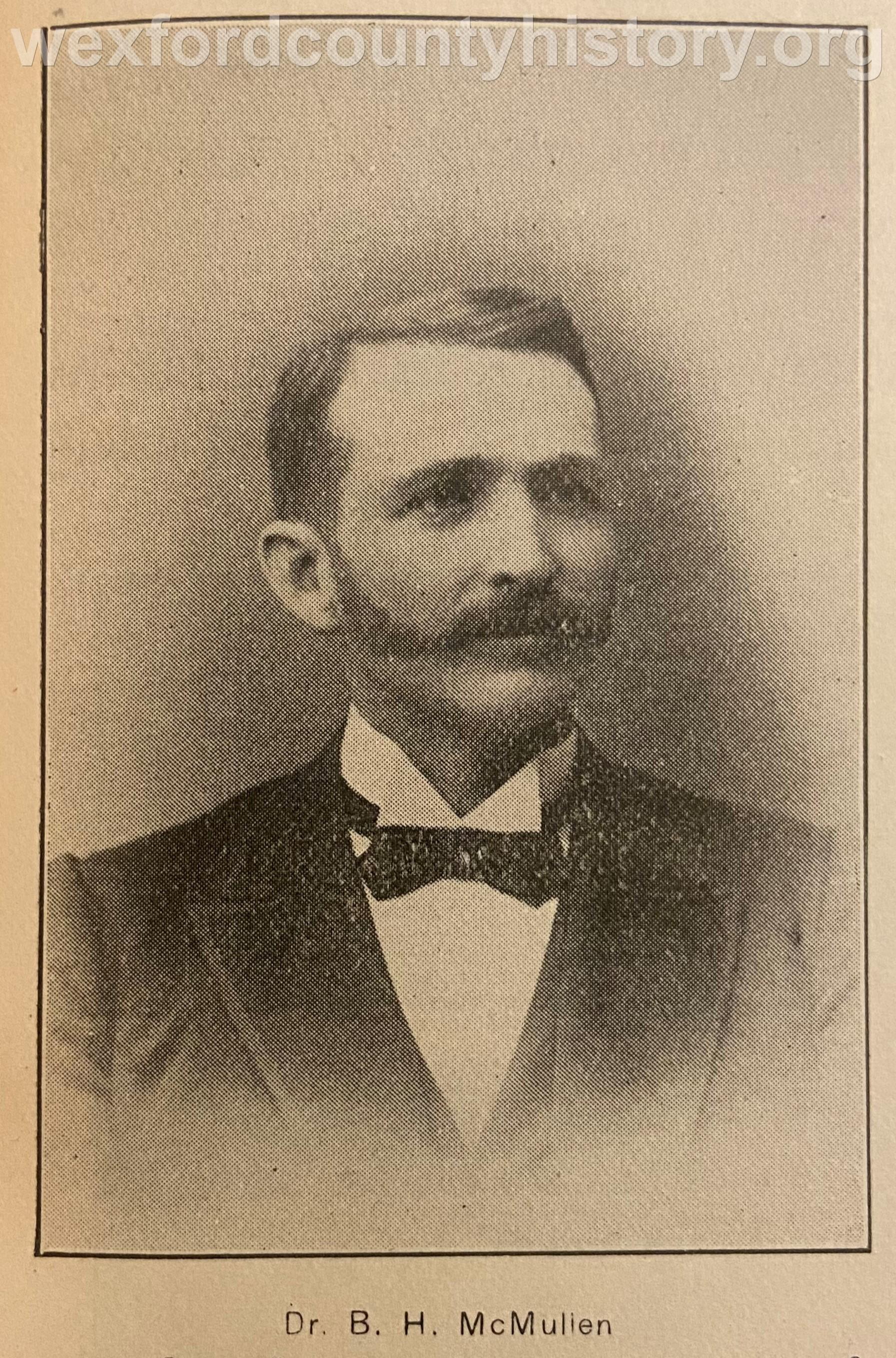 Dr. Bartlett H. Mc Mullen