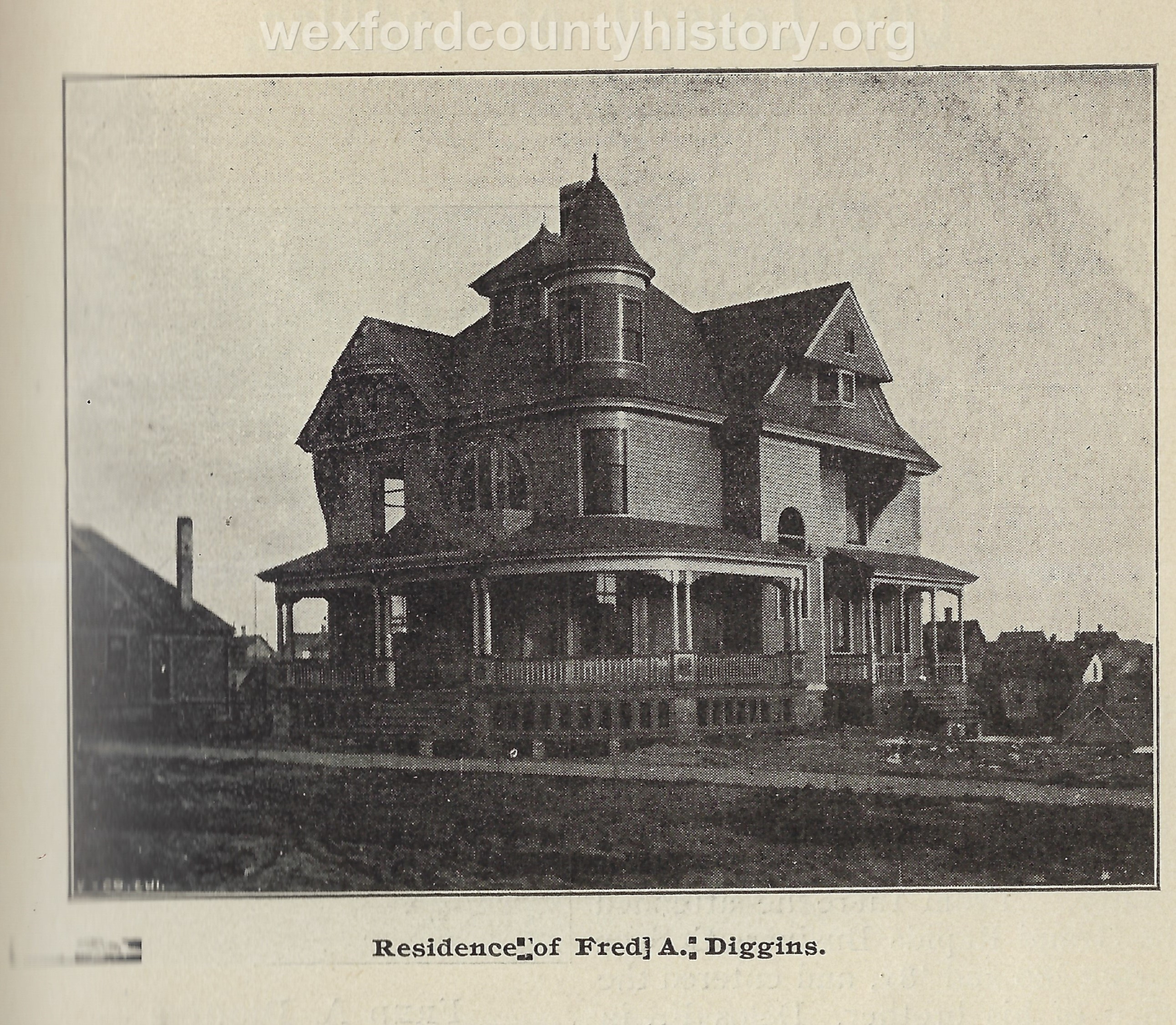 Fred A. Diggins House