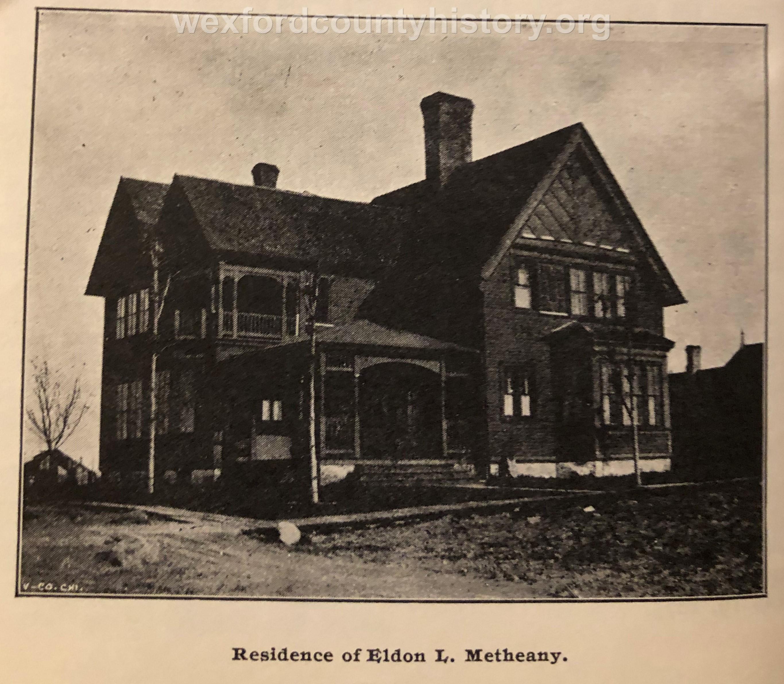 Eldon L. Metheany House