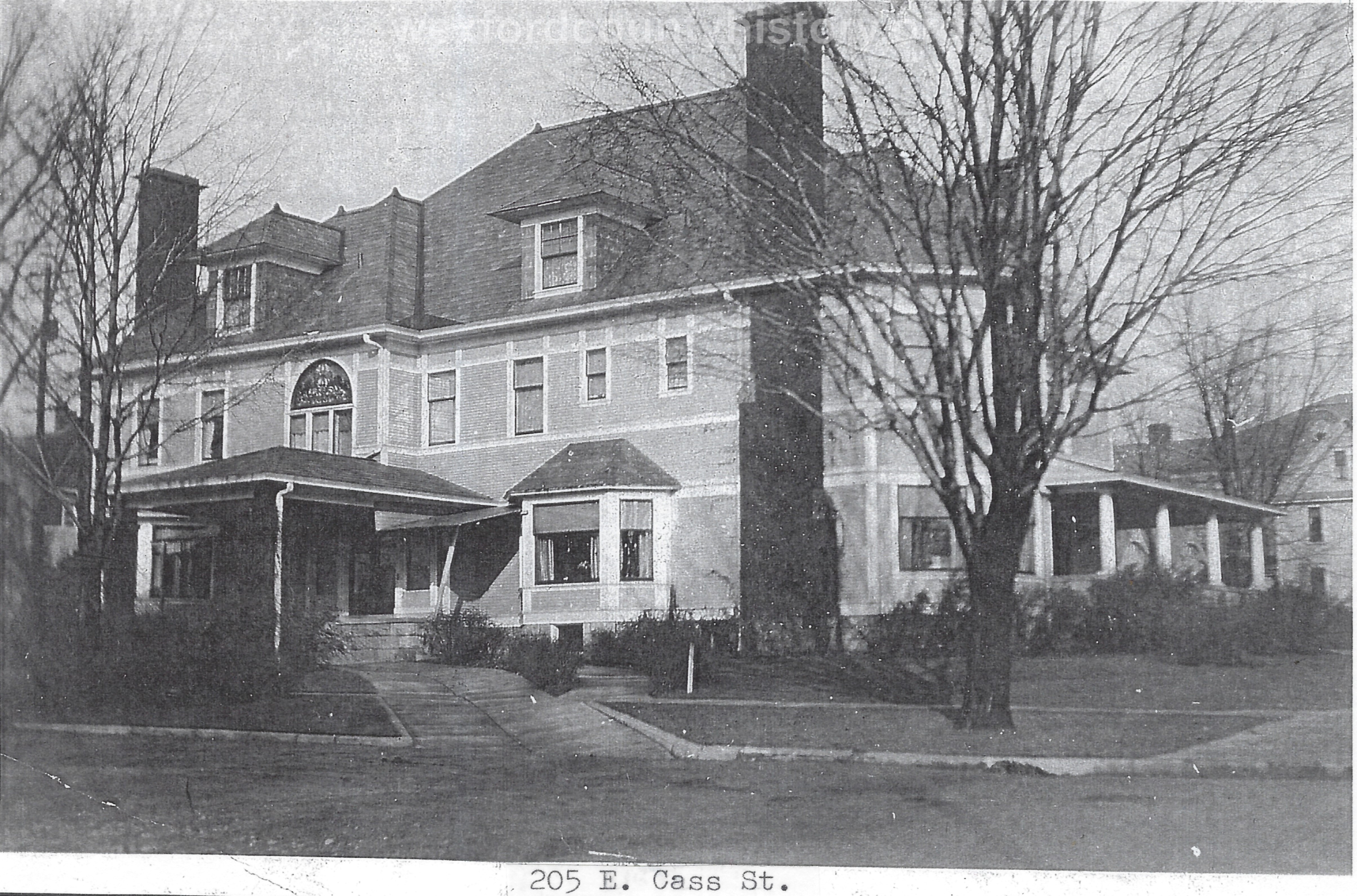 William W. Mitchell House - 205 East Cass