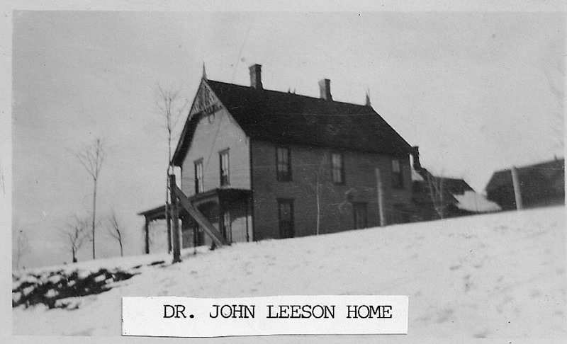 Dr. John Leeson Home