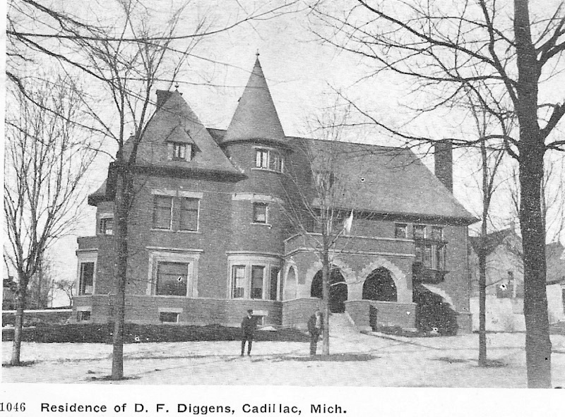 Delos Diggins Residence