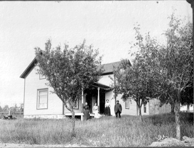 Early Farm Home