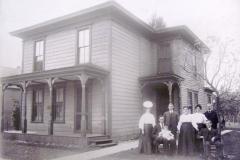 John Warden House And Family