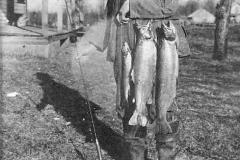 Herby Coll. Milt Garlett with Fish