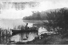 Fisherman on Lake Cadillac