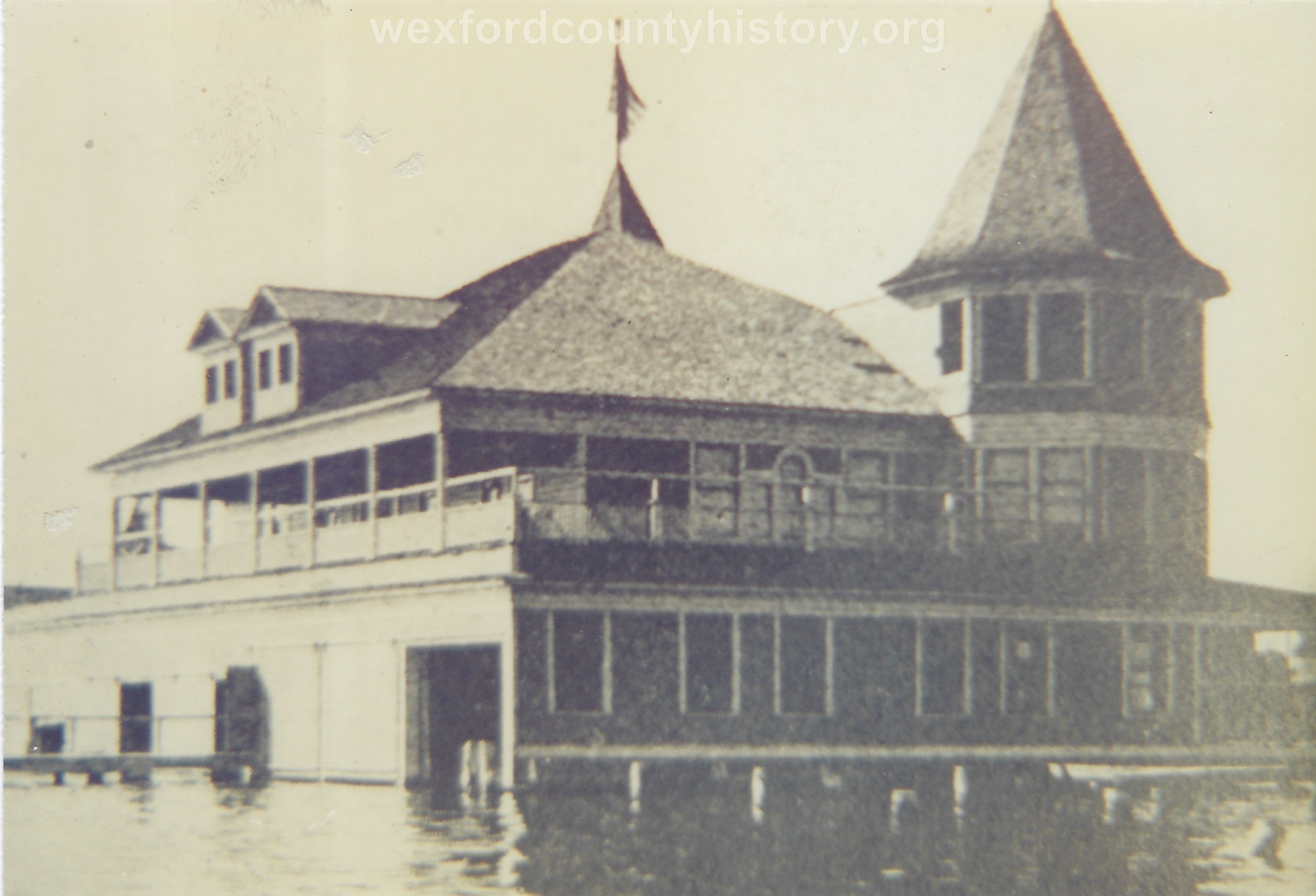 Cadillac Boat Club's Club House