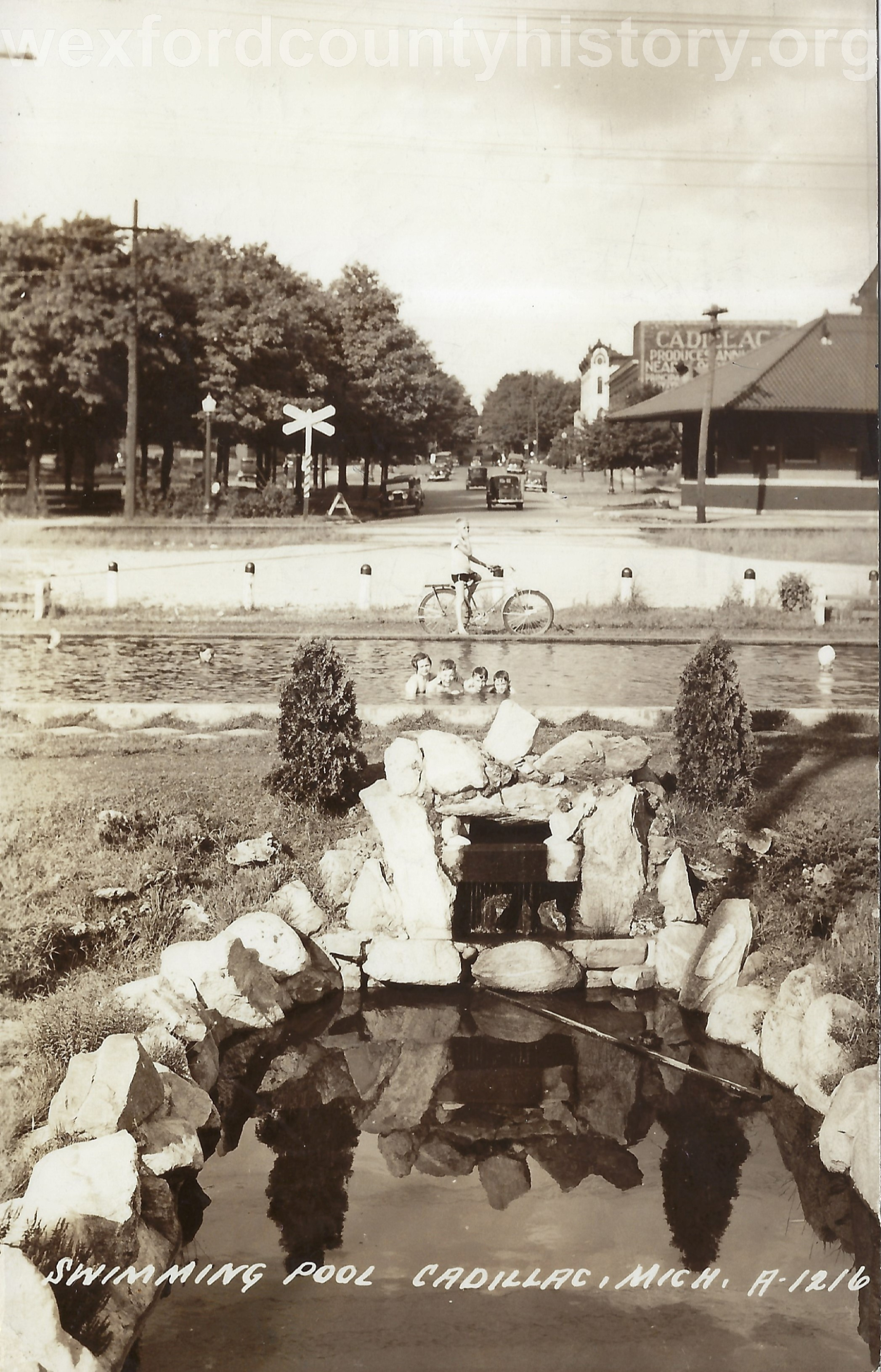 Swimming Pool on West Cass Street