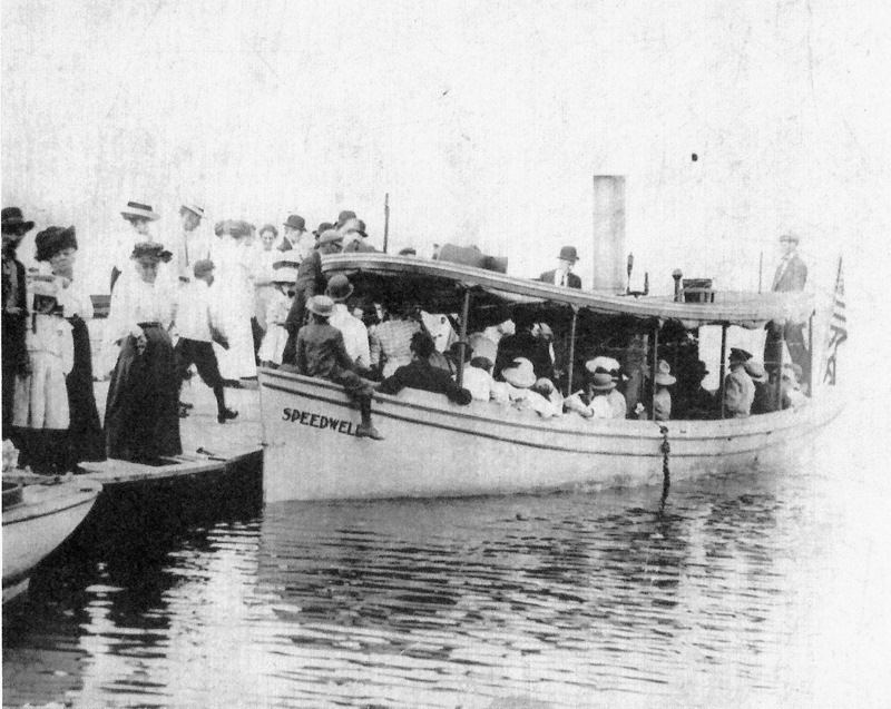 Steamboat Speedwell at the Lake Cadillac City Dock